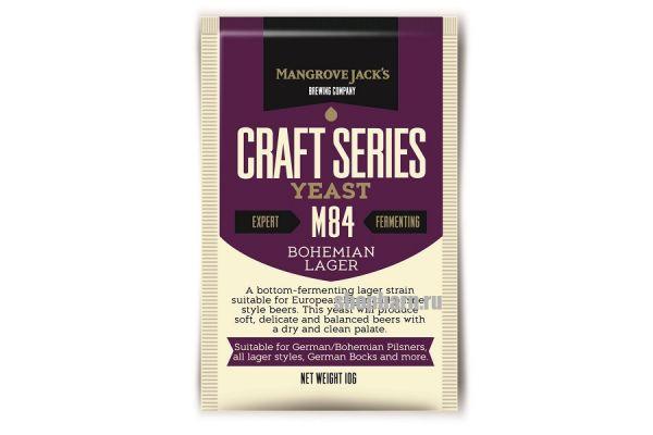 Дрожжи пивные Mangrove Jack's Bohemia Lager M84