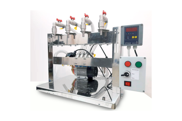 Аппарат розлива жидкостей без газа Fillermatic-4