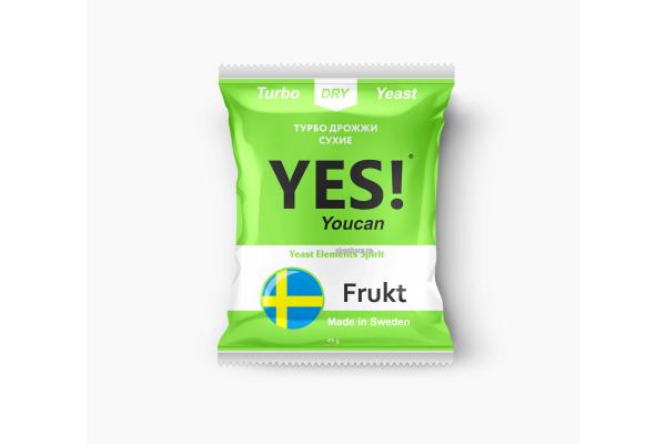 Дрожжи спиртовые Yes Frukt